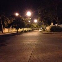 Photo taken at Av. Centenario Ezq. Av. Las Costas by Franklin R. on 8/30/2013