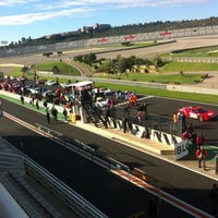 Photo taken at Circuit de la Comunitat Valenciana Ricardo Tormo by Gema on 12/1/2012