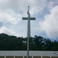 Photo taken at The Cross - Mt. Samat by Jhez S. on 10/28/2015