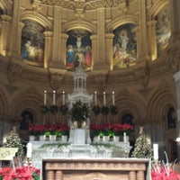 Photo taken at St. Francis Xavier Catholic Church by joe s. on 12/25/2013