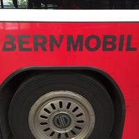 Photo taken at Bernmobil Eigerplatz by Falco 5. on 8/11/2015