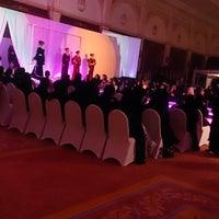 Photo taken at aljewan hall by Eme A. on 2/24/2014