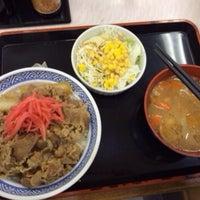Photo taken at Yoshinoya by Kiyotaka S. on 6/28/2014
