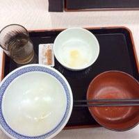 Photo taken at Yoshinoya by Kiyotaka S. on 6/14/2014
