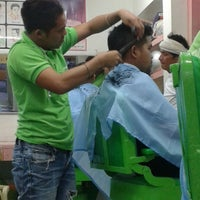 Photo taken at Amy & Bea Barber Shop by Candy B. on 3/7/2014