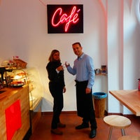 Photo taken at Café Element by Veronika N. on 3/4/2014