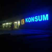 Photo taken at Mustvee Konsum by Riho R. on 1/24/2014