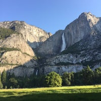 Photo taken at Lower Yosemite Falls by Ahmed Said C. on 7/8/2017
