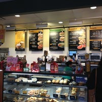 Photo taken at Einstein Bros Bagels by Phillip L. on 2/8/2013