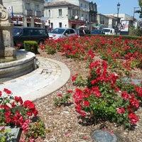 Photo taken at Place Nansouty by Arnaud L. on 6/7/2014
