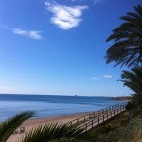 Foto tomada en Playa Mil Palmeras por Amaia el 5/19/2013
