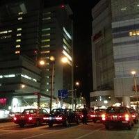 Photo taken at JR 目黒駅 東口 by Jina P. on 4/3/2013