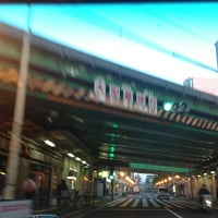 Photo taken at Okubo Station by Jina P. on 4/26/2013