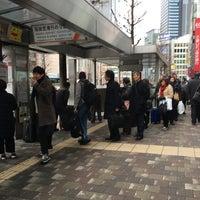1/30/2016에 Jina P.님이 新宿駅西口バスターミナル 23番のりば에서 찍은 사진