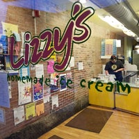 Photo taken at Lizzy's Homemade Ice Cream by Jeffrey G. on 6/4/2017