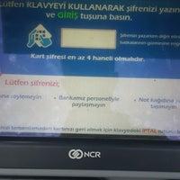 Photo taken at yapi kredi kıraç şubesi by Ersin Ö. on 10/11/2016