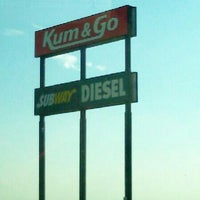 Photo taken at Kum & Go by Mike C. on 7/3/2013