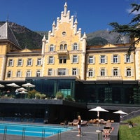 Photo taken at Grand Hotel Billia by Stefano M. on 7/5/2014