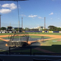 Photo taken at FIU Baseball Stadium by Nestor G. on 3/16/2017