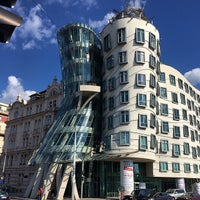 Photo taken at Dancing House by 👾Valentina S. on 5/31/2014