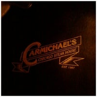 Photo taken at Carmichael's Chicago Steak House by Darryl P. on 10/13/2012