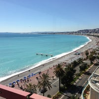 Photo taken at Le Méridien Nice by Panos T. on 3/21/2013