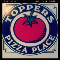 Photo taken at Toppers Pizza Place by Joseph B. on 9/17/2012