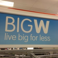 Photo taken at Big W by Ross B. on 5/10/2013