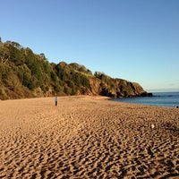 Photo taken at Blackpool Sands by Andrew B. on 12/8/2012