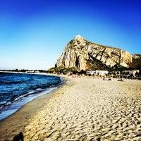 Photo taken at Beach Scarcella by Ibrahim on 5/26/2014