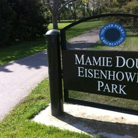 Photo taken at Mamie D. Eisenhower Park by Bryon M. on 5/23/2013