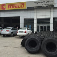 Photo taken at PIRELLI - YAŞAR OTO LASTİK by Volkan 🇹🇷 on 4/21/2016