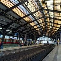 Photo taken at Berlin Friedrichstraße Railway Station by Ceren S. on 3/27/2016