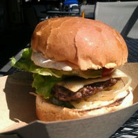 Photo taken at Village Burger by Emeline R. on 9/24/2012