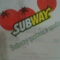 Photo taken at Subway by Felipe M. on 10/22/2012