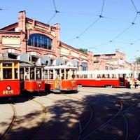 Снимок сделан в Музей городского электрического транспорта пользователем Sergey P. 7/29/2013