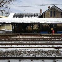 Photo taken at SEPTA Villanova Station by Jeff P. on 1/26/2013