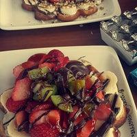 2/14/2016 tarihinde Gizem A.ziyaretçi tarafından Granny's Wafflés'de çekilen fotoğraf