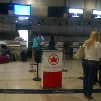 Photo taken at Air Canada Check-in Counter by Antonio M. G. on 7/27/2013