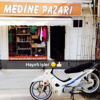 Photo taken at medine pazari yenisehir bursa by Ceyhun V. on 4/1/2016