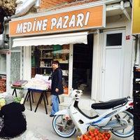 Photo taken at medine pazari yenisehir bursa by Ceyhun V. on 3/29/2016