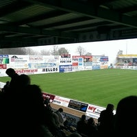 Photo taken at FRIMO Stadion by Max K. on 4/5/2014