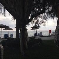Photo taken at Poseidon Palace-Beach Bar by Alex D. on 9/26/2014