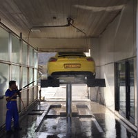 Photo taken at Shell Carwash - Ruwi by A9eel A. on 6/14/2015