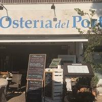 Photo taken at Osteria del porto by Eva on 10/12/2017