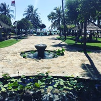 Photo taken at Grand Aston Bali Beach Resort by Eva on 10/10/2016