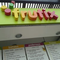 Photo taken at Frutix by Carla Yaemi F. on 9/22/2012