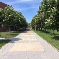 Photo taken at Universidad de León by Müge O. on 5/11/2015