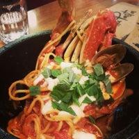 Photo taken at Sorella Pasta by Yoonjung C. on 3/8/2014