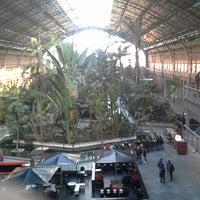 Photo taken at Atocha by Santiago D. on 2/22/2014